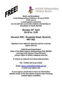 thumbnail of Flyer LSCG North Broadland