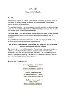 thumbnail of Jobcentreplus Support for Schools Mar17