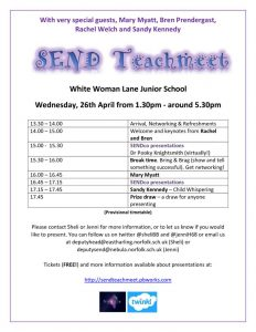 thumbnail of White Woman Lane Junior School SEND leaflet (1)