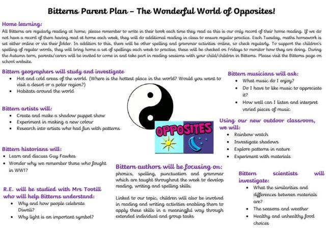 thumbnail of Bitterns Parent Plan Autumn Term 2018
