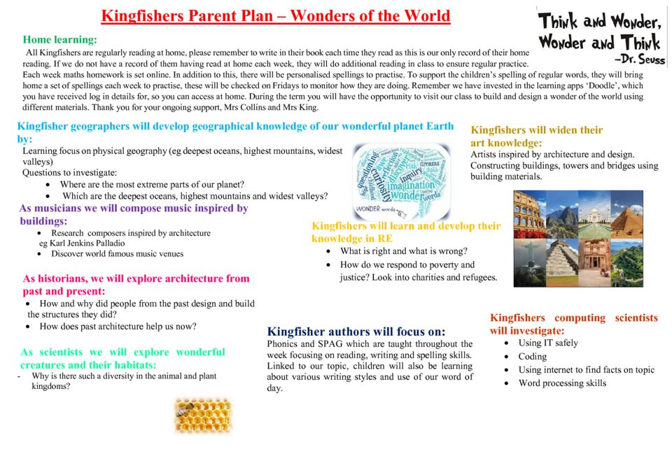 thumbnail of Kingfishers Spring term parent plan 2020