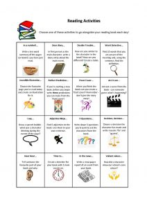 thumbnail of Reading-Activities