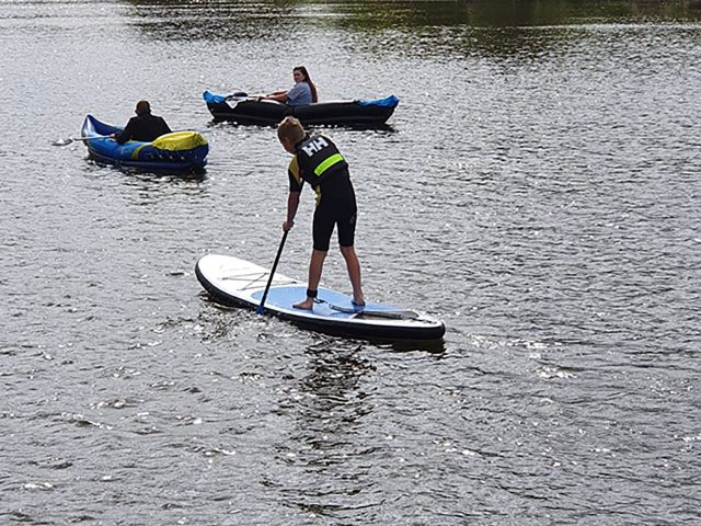 Activities At Home Paddle Boarding.