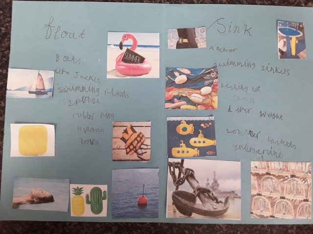 Floating And Sinking Poster By Maddie