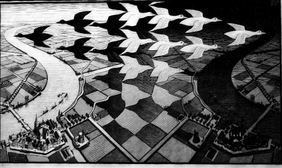 Day and night (1938) - Maurits Cornelis Escher (1898 - 197… | Flickr