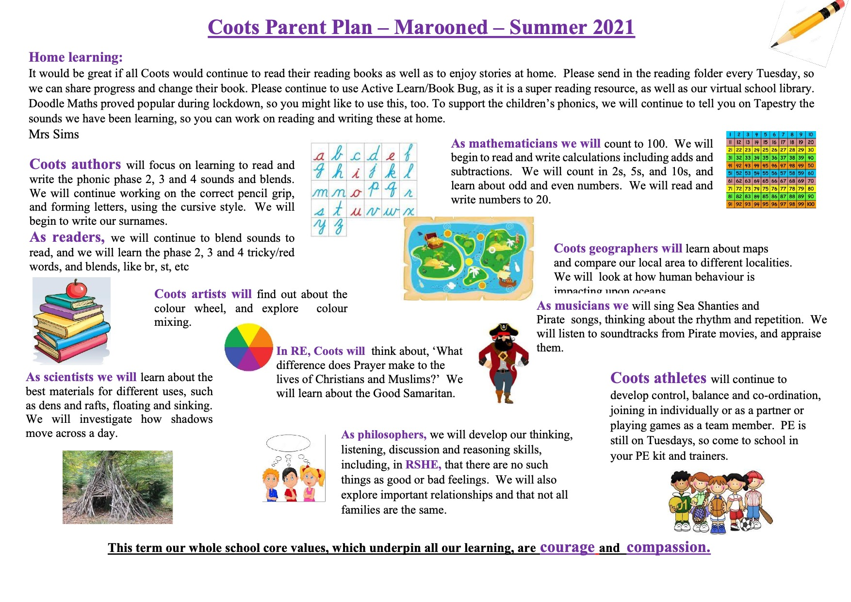 Parent Plan Marooned Summer 2021
